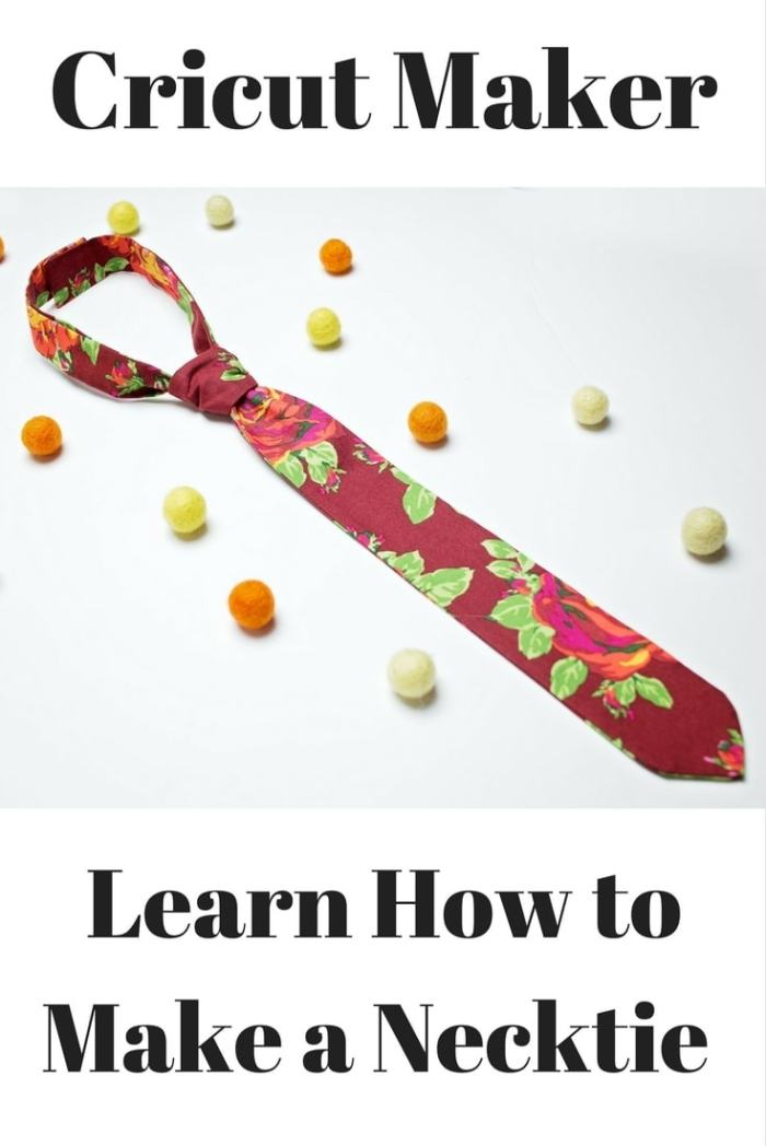 How To Sew a Boy's Necktie Tutorial and Pattern