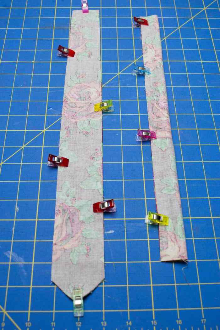 How To Make A Tie Free Pattern Cricut Maker Sweet Red