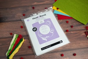 Thermoweb Heat N Bond Fusible Fleece.