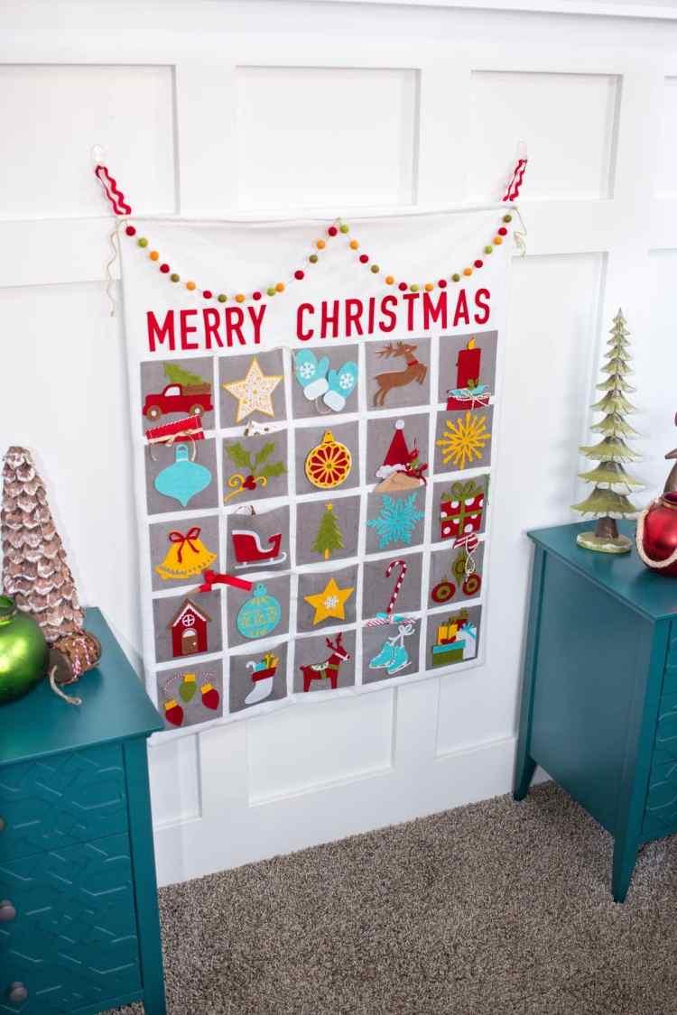Christmas Advent Calendar Step by Step Tutorial Using The Cricut Maker