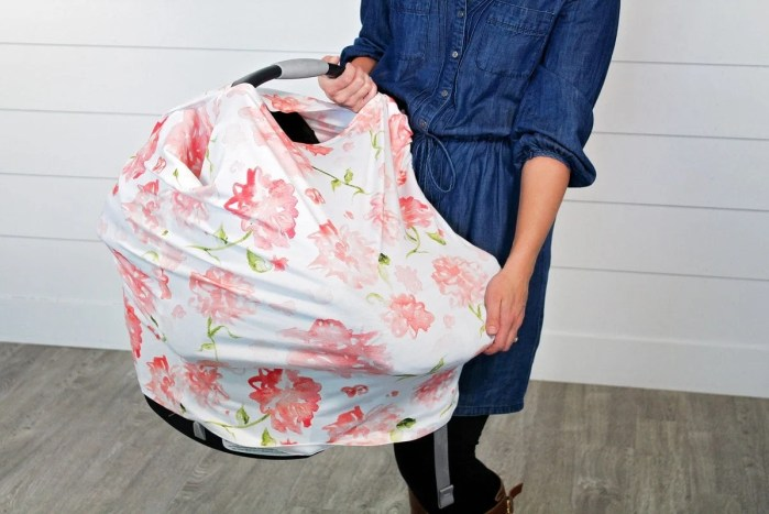 Carseat Canopy Sewing Tutorial