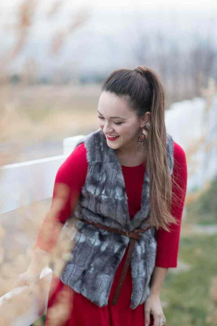 Learn how to sew with faux fur