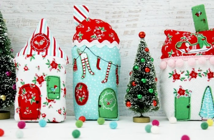 Fabric.com Holiday Village Sewing Tutorial With Pixie Noel Fabric