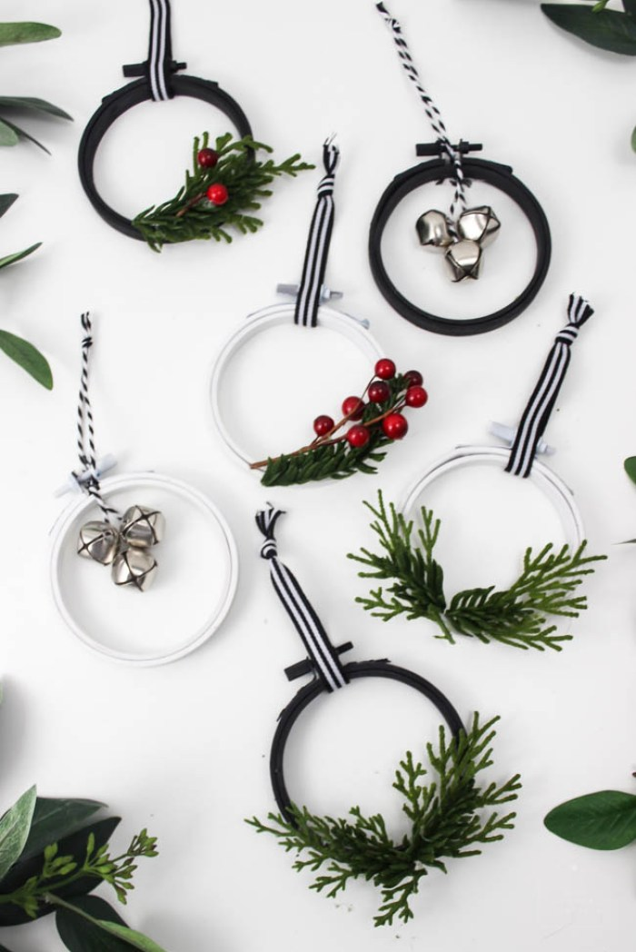 Love Create Celebrate Mini Ormanet Wreaths