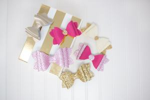 Girls French Hairbow Tutorial & Free Pattern