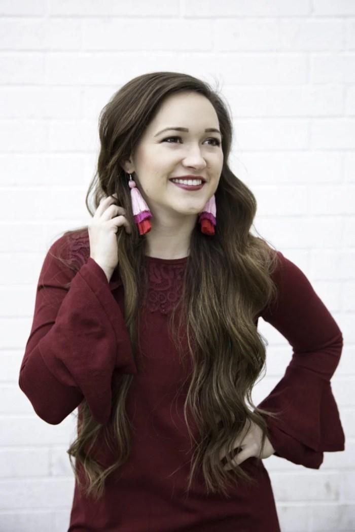 Tassel Earring Step by Step DIY Tutorial