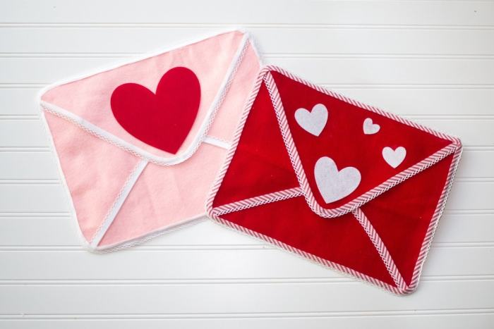 Valentine's Day Chairbacker Envelopes Pottery Barn Inspired Tutorial