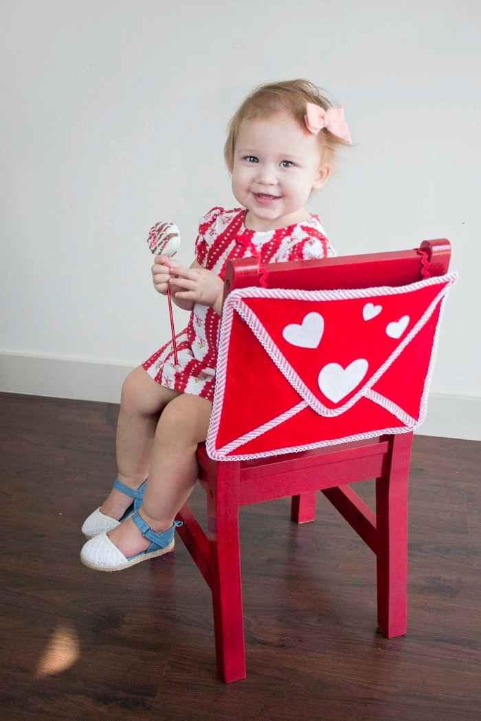 DIY Kid's Valentine's Chairbacker Envelope Tutorial