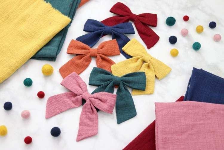 Sailor Hair Bow Sewing Tutorial