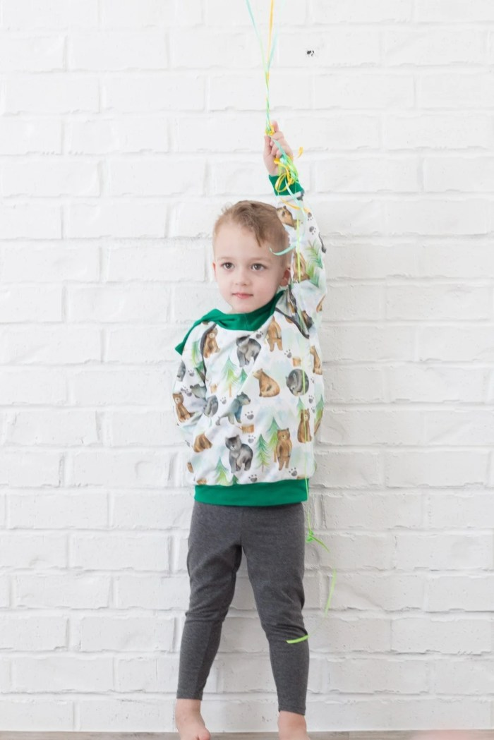Free boys pdf sewing pattern
