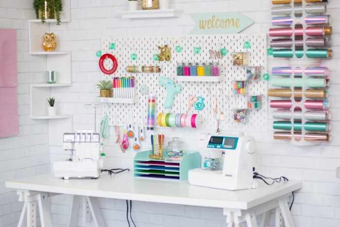 How to Organize your Craft and Sewing Space