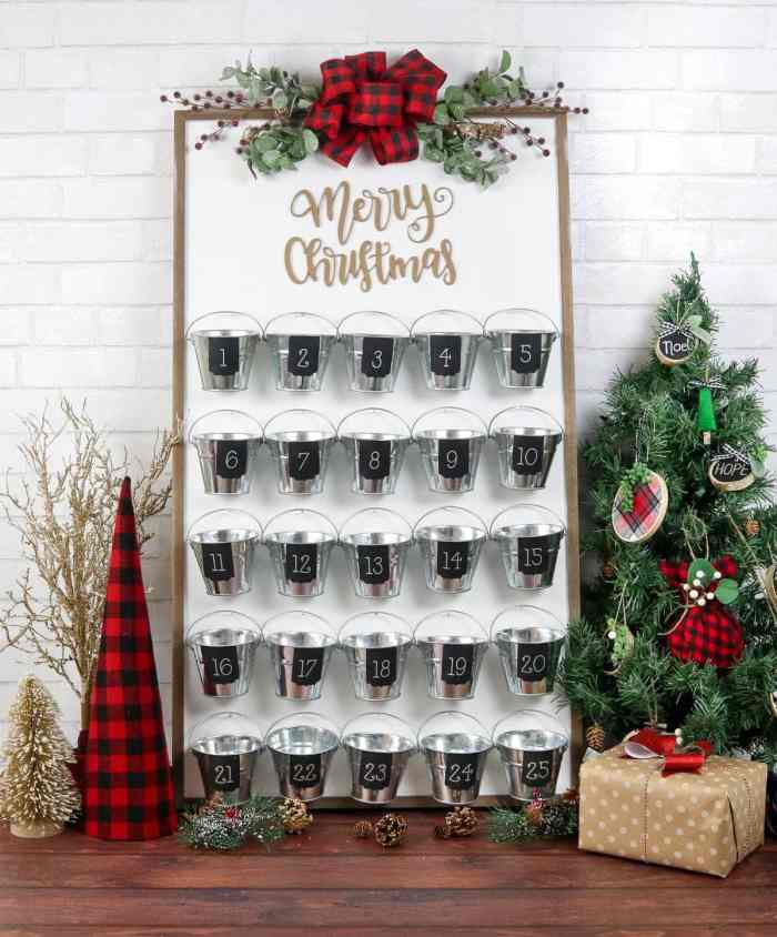 DIY Christmas Advent Calendar Cricut Maker Knife Blade