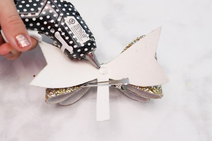 Secure Clip to Hair Bow