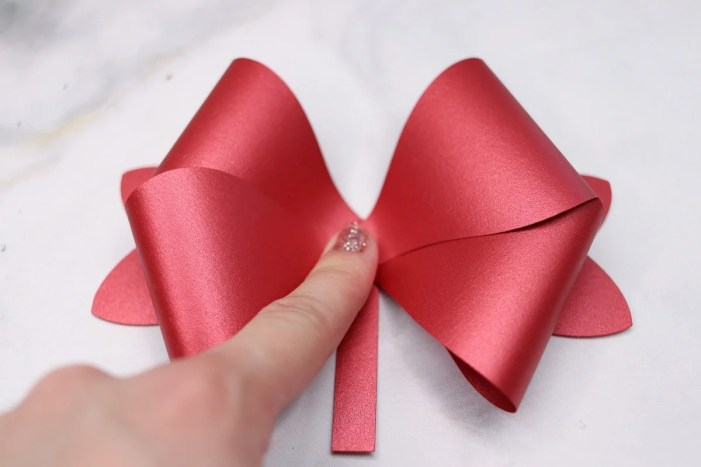 Free Double Hair Bow SVG Cut File