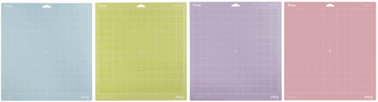Cricut Maker Light Grip, Standard, Strong and Fabric Mat