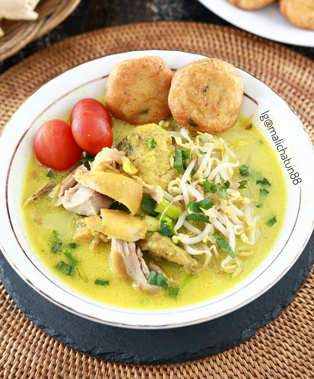 Resep Soto Ayam Bening Kuning : resep, bening, kuning, Resep, Santan, Enaknya, Kebangetan