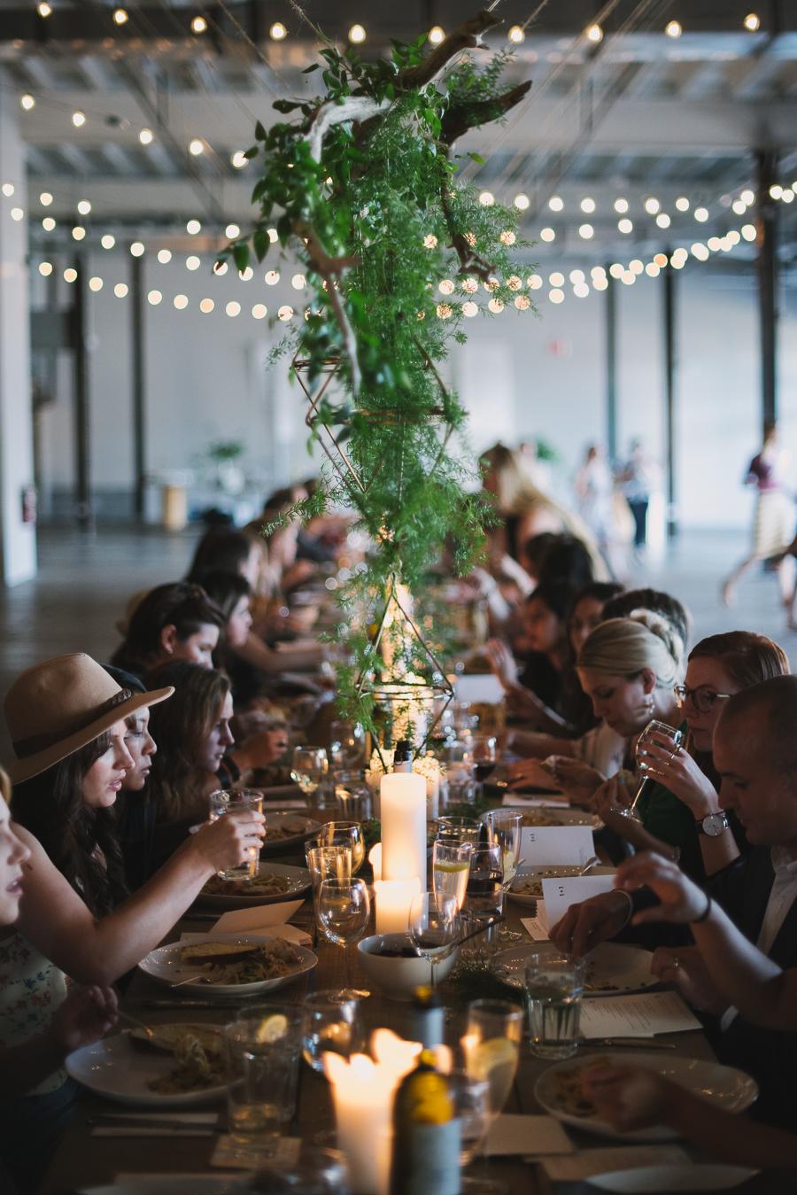 Photography And Floral Design For Kinfolk Dinner