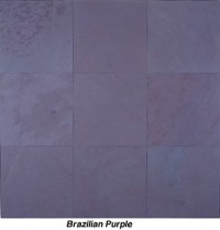 Purple Slate Tiles | Tile Design Ideas