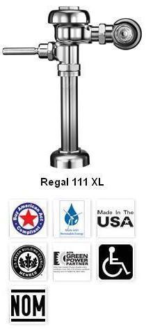 Regal XL Manual Flushometers