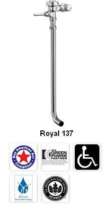 Royal Manual Flushometers