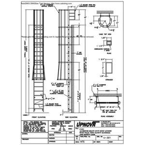 Osha Caged Ladder Diagram OSHA Vertical Ladders Wiring