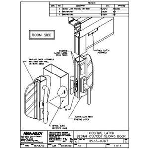 Rotating Door Plan & CAD Drawings ASSA ABLOY Entrance