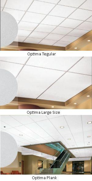 Optima Acoustical Ceiling Tile  Armstrong World