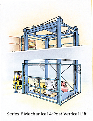 Series F Mechanical Vertical Lift