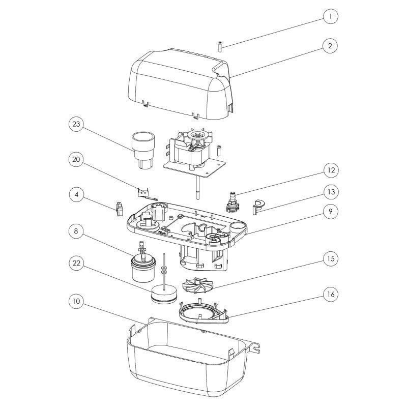 SANICONDENS® Condensate Pump