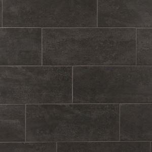 carbon wash ceramic tile floor