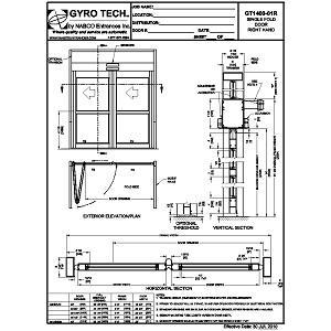 GT 1400 Single Fold RH-NABCO Entrances Inc.
