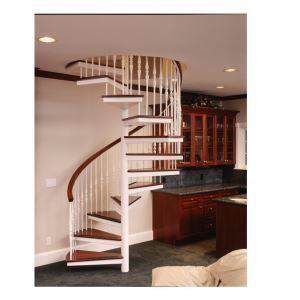 Metal And Wood Spiral Stairs – Stairways Inc Sweets   Wooden Spiral Stairs Design   Different Style   Circular   Curved   Space Saving   Easy Diy