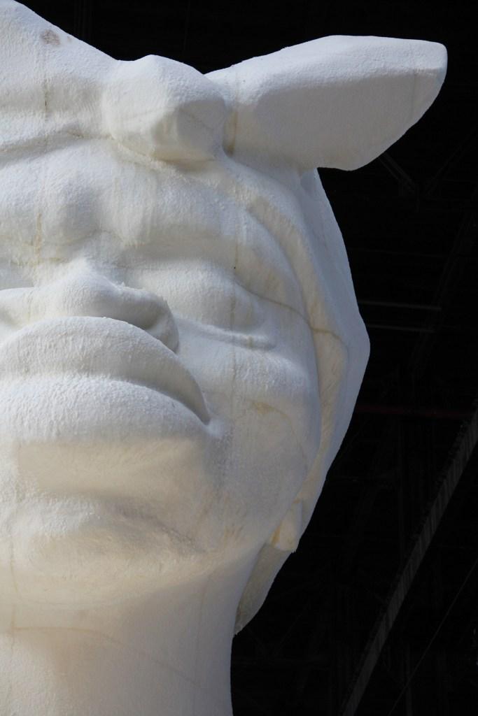 Kara Walker's: 'A Subtlety, or the Marvelous Sugar Baby' at The Domino Sugar Factory, Brooklyn