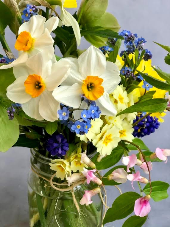 Heaven in a Jar: A Spring Bouquet