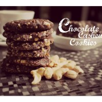 Chocolate Cashew Cookies