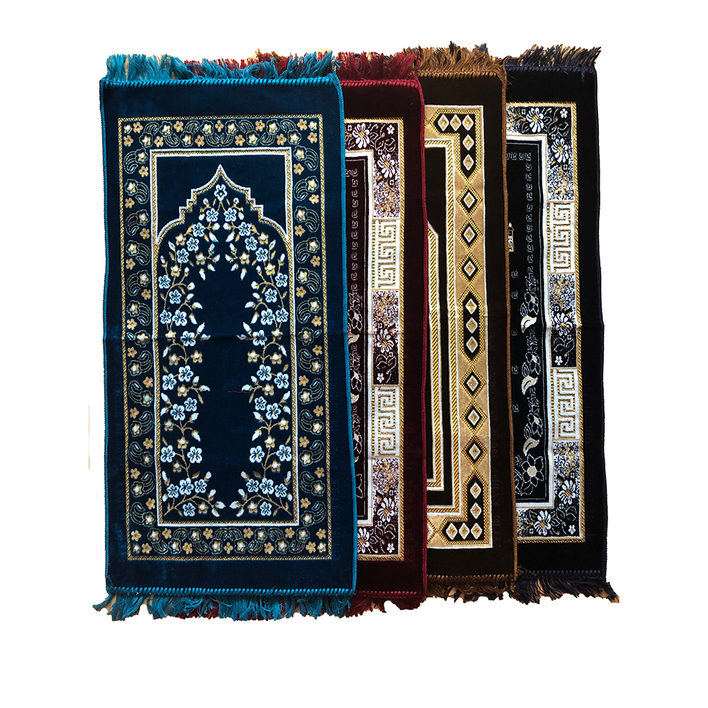 Many prayer mats