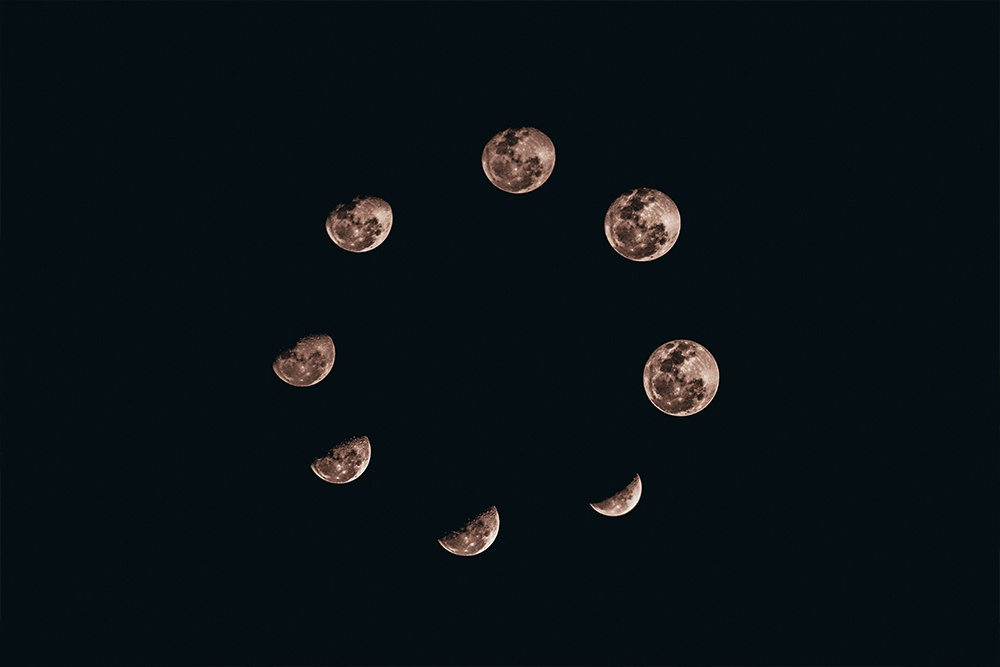 Islamic Months from the Moon