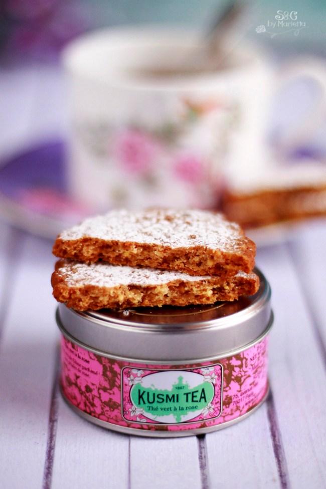 Kusmi Tea, Galletas frutas confitadas Sweets and Gifts by Marietta, Galletas, cookies, fruta confitada, Murcia, Blog Recetas,  Repostería Tradicional, Recetas sanas, Te,