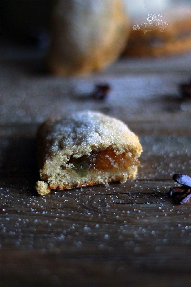 Empanadillas navideñas Sweets & Gifts by Marietta, Recetas con cabello de ángel, fruta confitada, postres navideños, Recetas de Navidad, Postre murciano