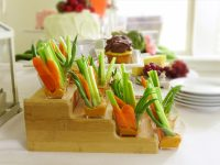Pink and Green Garden Party Bridal Shower + Red Pepper ...