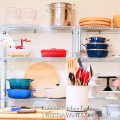 Essential Tools For The Kitchen Sinks Undermount You Need Great Homemade Meals