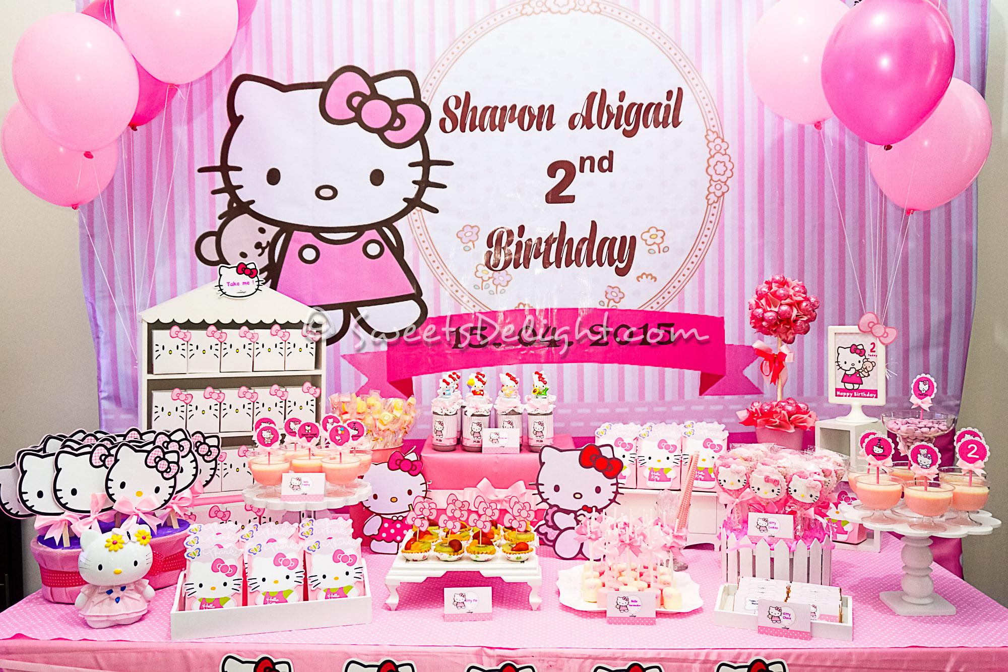 33 Hello Kitty Birthday Party Ideas