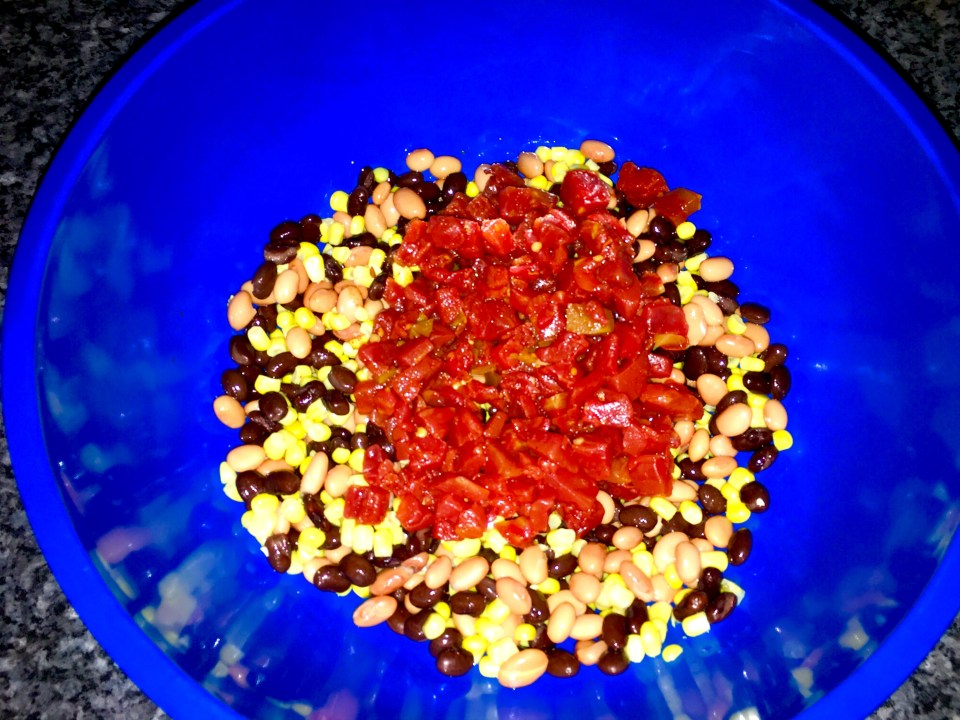 add tomatoes and chiles