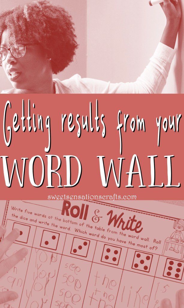 Using your word wall effectively