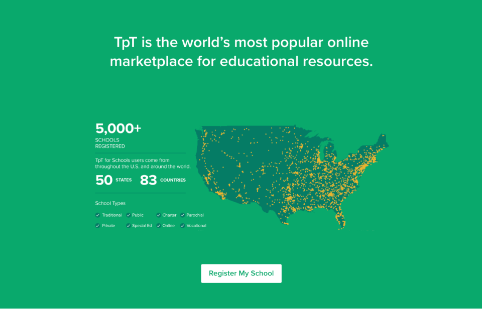 TpT for schools link