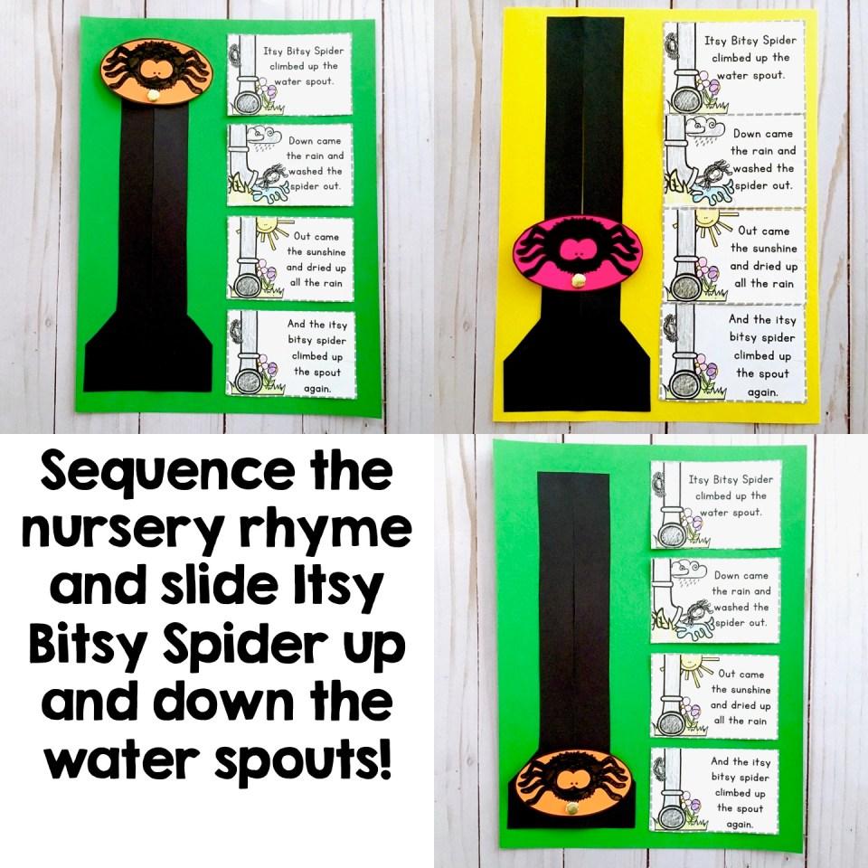 Nursery Rhymes Itsy Bitsy Spider