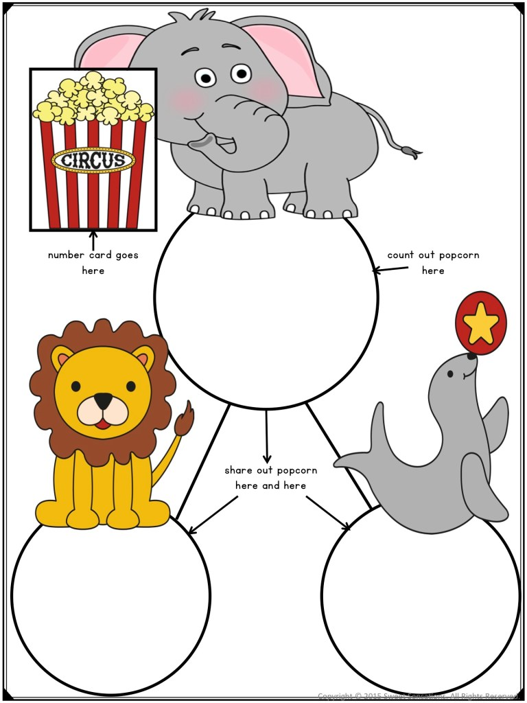 free composing and decomposing kindergarten math activity