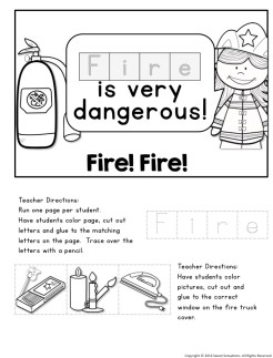 Essentials that you must teach to your students during fire safety month!