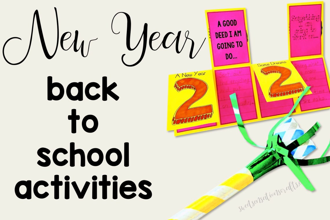 Back to school after the New Year activities for elementary students