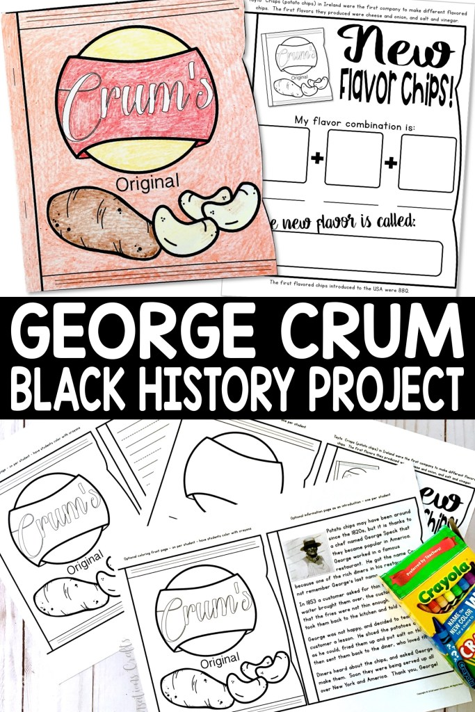 George Crum pin
